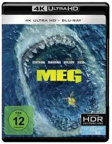 MEG (Ultra HD Blu-ray & Blu-ray), 1 Ultra HD Blu-ray und 1 Blu-ray Disc