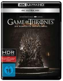 Game of Thrones Season 1 (Ultra HD Blu-ray), 4 Ultra HD Blu-rays
