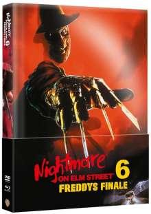 Nightmare on Elm Street 6: Freddys Finale (Blu-ray & DVD im wattierten Mediabook), 1 Blu-ray Disc und 1 DVD