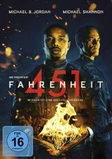 Fahrenheit 451 (2018), DVD