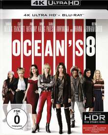 Ocean's Eight (Ultra HD Blu-ray & Blu-ray), 1 Ultra HD Blu-ray und 1 Blu-ray Disc