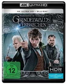 Phantastische Tierwesen: Grindelwalds Verbrechen (Ultra HD Blu-ray & Blu-ray), 1 Ultra HD Blu-ray und 1 Blu-ray Disc