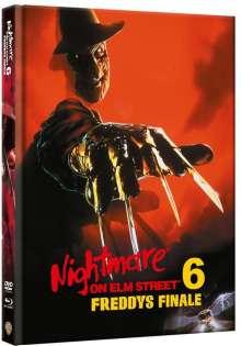 Nightmare on Elm Street 6: Freddys Finale (Blu-ray & DVD im Mediabook), 1 Blu-ray Disc und 1 DVD