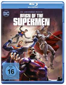 Reign of the Supermen (Blu-ray), Blu-ray Disc