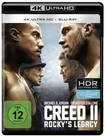Creed II: Rocky's Legacy (Ultra HD Blu-ray & Blu-ray), 1 Ultra HD Blu-ray und 1 Blu-ray Disc