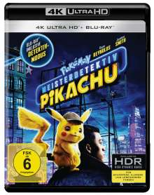 Pokémon Meisterdetektiv Pikachu (Ultra HD Blu-ray & Blu-ray), 1 Ultra HD Blu-ray und 1 Blu-ray Disc