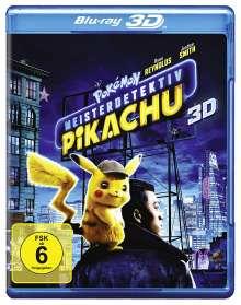 Pokémon Meisterdetektiv Pikachu (3D Blu-ray), Blu-ray Disc