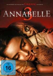 Annabelle 3, DVD