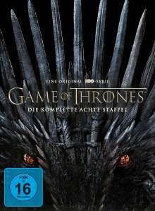 Game of Thrones Season 8 (finale Staffel), 4 DVDs