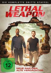 Lethal Weapon Season 3, 3 DVDs
