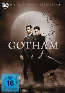 Gotham Staffel 5 (finale Staffel), 4 DVDs