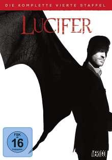 Lucifer Season 4, 2 DVDs