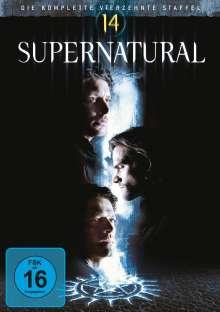 Supernatural Staffel 14, 5 DVDs
