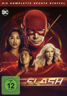 The Flash Staffel 6, 5 DVDs