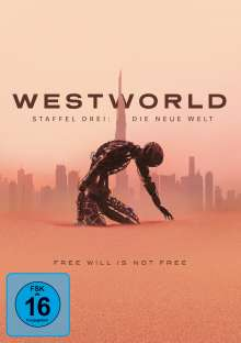 Westworld Staffel 3, 3 DVDs