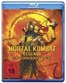 Mortal Kombat Legends: Scorpion's Revenge (Blu-ray), Blu-ray Disc