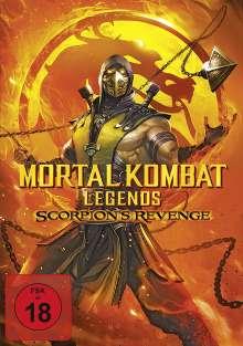 Mortal Kombat Legends: Scorpion's Revenge, DVD