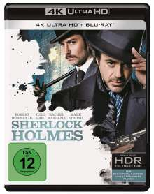 Sherlock Holmes (2009) (Ultra HD Blu-ray & Blu-ray), 1 Ultra HD Blu-ray und 1 Blu-ray Disc