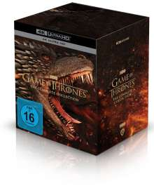 Game of Thrones (Komplette Serie) (Ultra HD Blu-ray), 33 Ultra HD Blu-rays