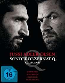 Jussi Adler Olsen - Sonderdezernat Q Collection (Blu-ray), 4 Blu-ray Discs