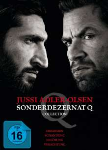 Jussi Adler Olsen - Sonderdezernat Q Collection, 4 DVDs