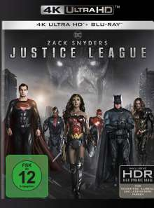 Zack Snyder's Justice League (Ultra HD Blu-ray & Blu-ray), 2 Ultra HD Blu-rays und 2 Blu-ray Discs