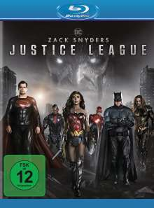 Zack Snyder's Justice League (Blu-ray), 2 Blu-ray Discs