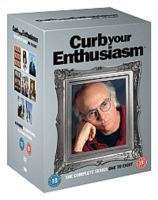 Curb Your Enthusiasm Season 1-8 (UK Import), 17 DVDs