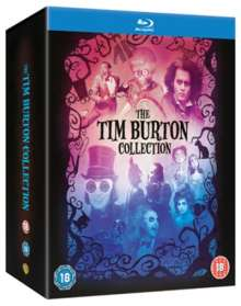 Tim Burton Collection (Blu-ray) (UK Import mit deutscher Tonspur), 8 Blu-ray Discs