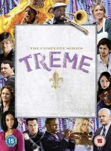 Treme Season 1-4 (UK-Import), 14 DVDs