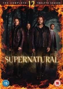 Supernatural Season 12 (UK-Import), 6 DVDs