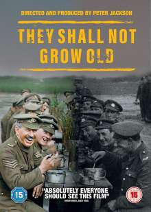 They Shall Not Grow Old (2018) (UK-Import), DVD