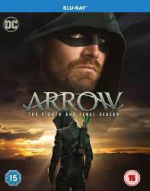 Arrow Season 8 (Final Season) (Blu-ray) (UK Import), 4 Blu-ray Discs