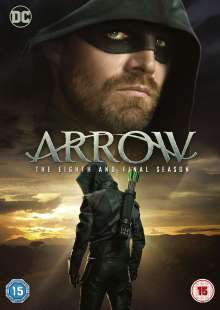 Arrow Season 8 (Final Season) (UK Import), 3 DVDs