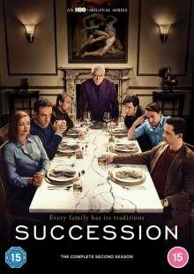 Succession Season 2 (UK Import), 3 DVDs