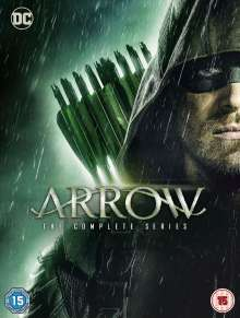 Arrow Season 1-8 (Complete Series) (UK Import), 39 DVDs