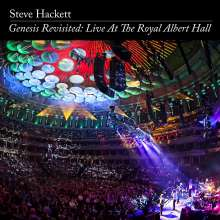 Steve Hackett (geb. 1950): Genesis Revisited: Live At The Royal Albert Hall (Limited Edition), 2 CDs, 2 DVDs und 1 Blu-ray Disc