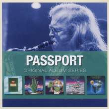 Passport / Klaus Doldinger: Original Album Series, 5 CDs