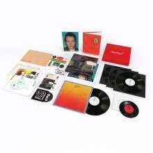 "Joe Strummer: Joe Strummer 001 (Super-Deluxe-Boxset), 3 LPs, 1 Single 12"", 1 Single 7"", 2 CDs, 1 MC und 1 Buch"