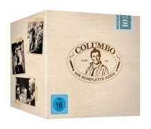 Columbo (Komplette Serie), 35 DVDs