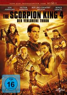 Scorpion King 4: Der verlorene Thron, DVD
