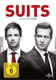 Suits Season 2, 4 DVDs