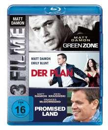 Matt Damon: 3-Movie-Set (Blu-ray), 3 Blu-ray Discs