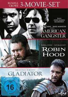 Russell Crowe: 3-Movie-Set, 3 DVDs