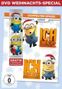 Ich - Einfach unverbesserlich 1 & 2 (Weihnachts-Special), 2 DVDs