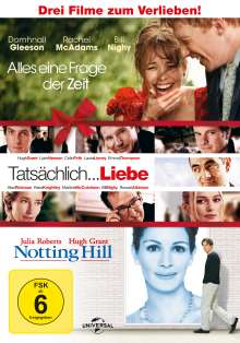 Alles eine Frage der Zeit / Tatsächlich...Liebe / Notting Hill, 3 DVDs
