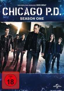 Chicago P. D. Staffel 1, 4 DVDs