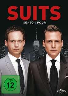 Suits Season 4, 4 DVDs