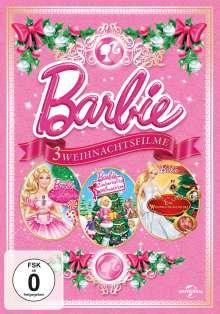 Barbie - 3 Weihnachtsfilme, 3 DVDs
