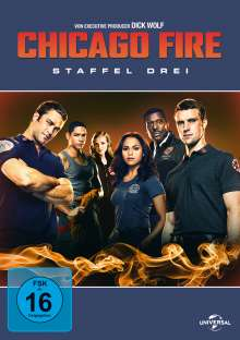 Chicago Fire Staffel 3, 6 DVDs